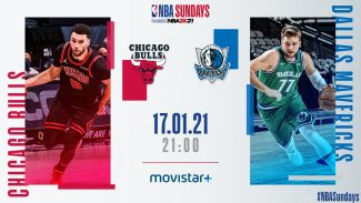 Cómo y dónde ver el Mavericks-Bulls, el gran partido del  NBA Sundays