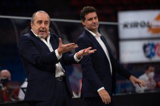 Vidorreta: «Es complicado jugar contra el Real Madrid porque están retransmitiendo el partido continuamente»