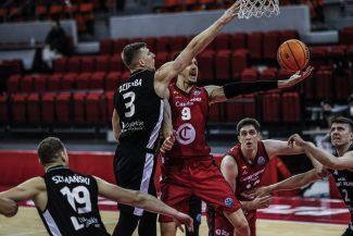 Brussino lidera la victoria del Casademont Zaragoza en BCL con su partido más completo de la temporada