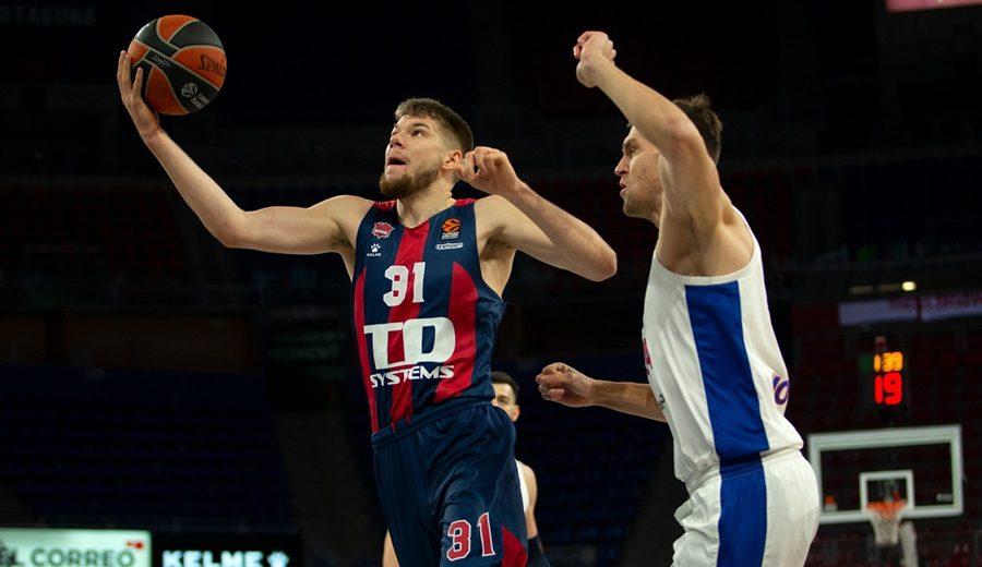 El TD Systems Baskonia acaba con la racha del CSKA Moscú en la Euroliga