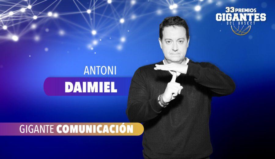 Antoni Daimiel, 'Gigante Comunicación'. Las palabras de Maldini, el Chacho, Flipe Luis, Nate Davis…