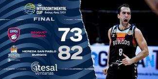 ¡Campeones! El Hereda San Pablo Burgos conquista la Copa Intercontinental. Lo mejor del partido, aquí (Vídeos)