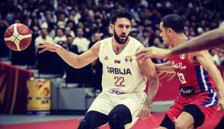 Nueva lista de Serbia para clasificarse para el Eurobasket. Micic y Guduric, convocados