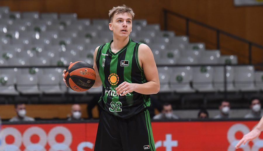 Arturs Zagars deja el Joventut y jugará cedido en el Kalev Cramo de Estonia
