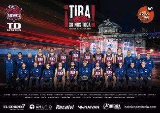Un Baskonia lleno de debutantes: Así es su plantilla para la Copa del Rey 2021