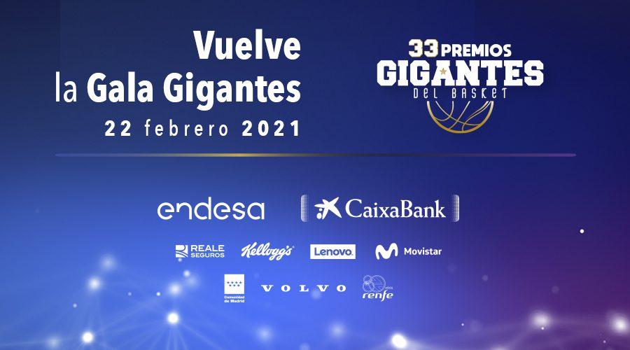 Los Premios Gigantes vuelven el 22 de febrero con una Gala virtual. Síguela aquí