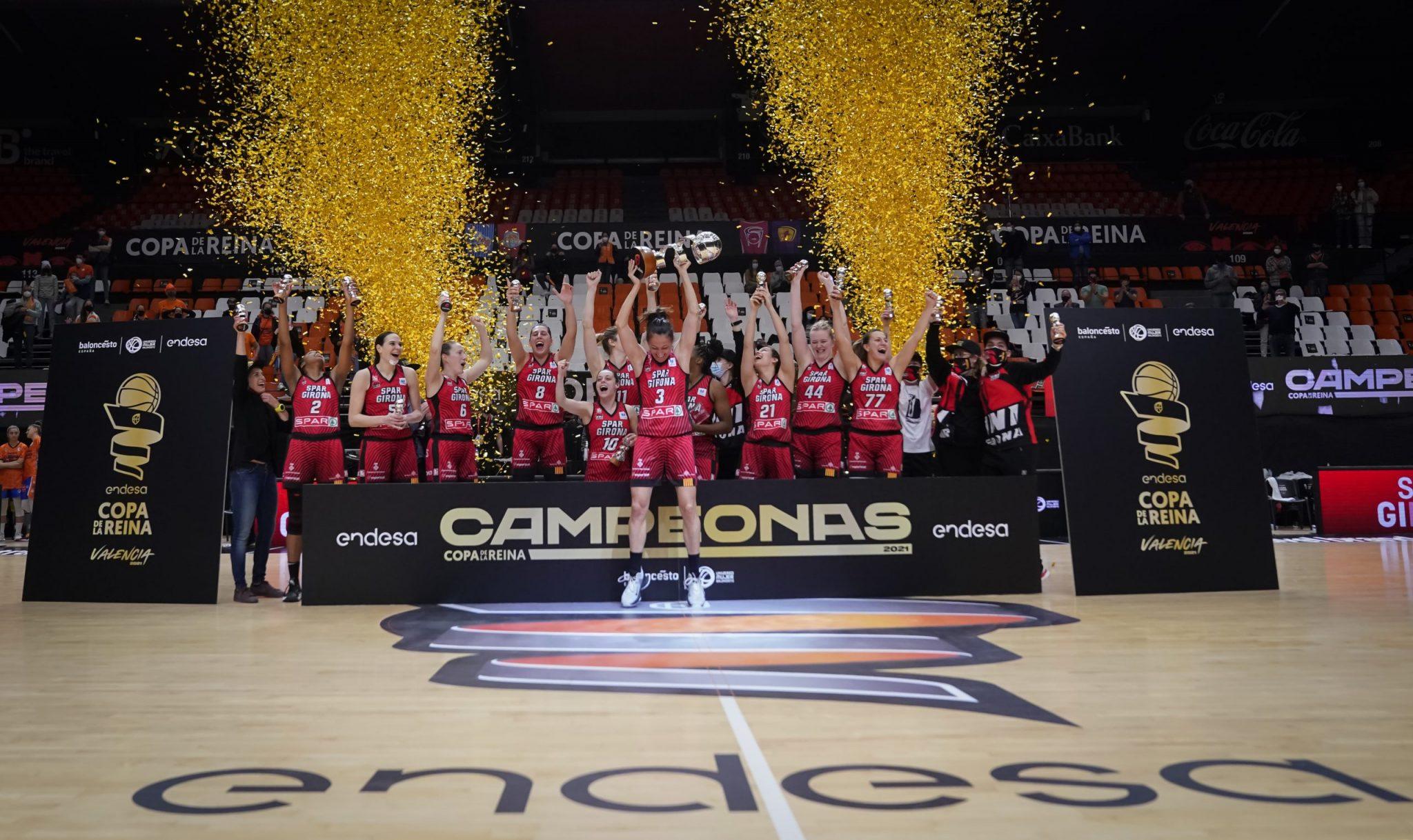 El Spar Girona gana la primera Copa de la Reina de su historia
