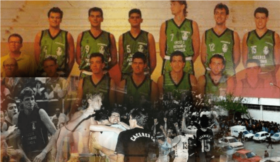 'Ascender y trascender'. Cuando el Cáceres ascendió a la ACB, por Piti Hurtado