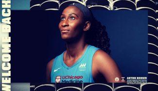 Astou Ndour firma con Chicago Sky. Así queda su situación respecto al Eurobasket y JJOO