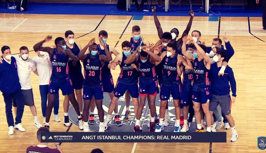 El Real Madrid se proclama campeón del ANGT de Estambul