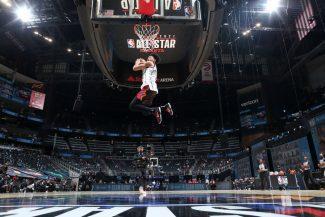 El descafeinado concurso de mates del NBA All-Star (Vídeo)