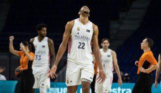 Tavares vuelve a imponer su ley y el Real Madrid derrota al TD Systems Baskonia