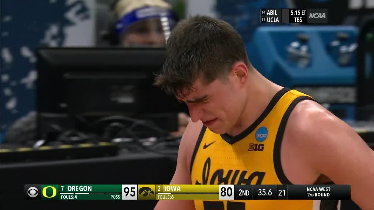 Luka Garza se despide entre lágrimas en el March Madness