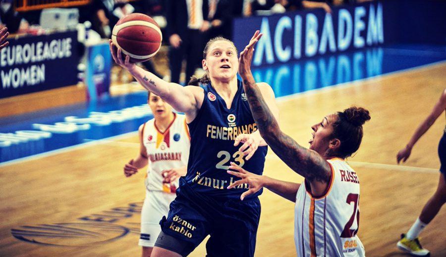 La exhibición de Alina Iagupova para ganar el derbi de Estambul