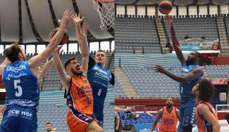 Radoncic y Okouo lideran la victoria del Acunsa GBC frente al Valencia Basket