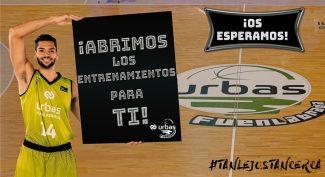 Los aficionados del Urbas Fuenlabrada podrán presenciar los entrenamientos de su equipo