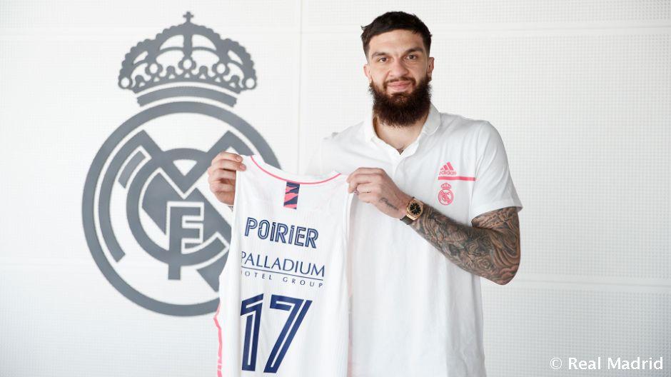 Oficial: Poirier, nuevo jugador del Real Madrid. Solo podrá jugar en Liga Endesa esta temporada