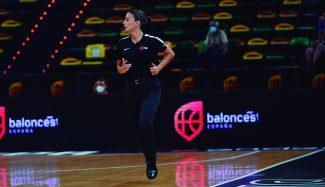 Entrevista a Sandra Sánchez, árbitra de LF Endesa y LEB Oro: «El baloncesto siempre es baloncesto»