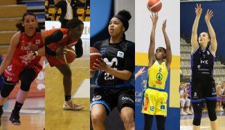 Cinco jugadoras destacadas de la Liga Femenina Endesa fuera del radar más mediático