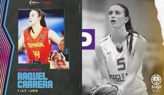 Histórica Raquel Carrera y sorpresa de Aina Ayuso en el Draft de la WNBA 2021