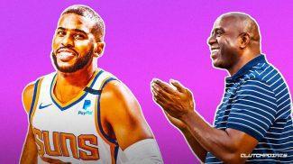 Chris Paul, historia de la NBA:  Supera a Magic Johnson en la lista de máximos asistentes