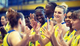 Sika Koné, jugadora más valorada de la LF con 18 años, seguirá en Spar Gran Canaria