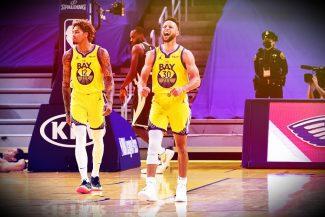 Otro partido de 40 puntos para Curry esta temporada. Su show ante los Bucks (Vídeo)