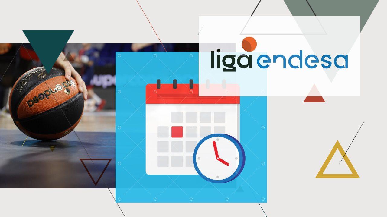 Intrahistorias del calendario de la Liga Endesa en el año más complicado. ¿Cómo se construye?