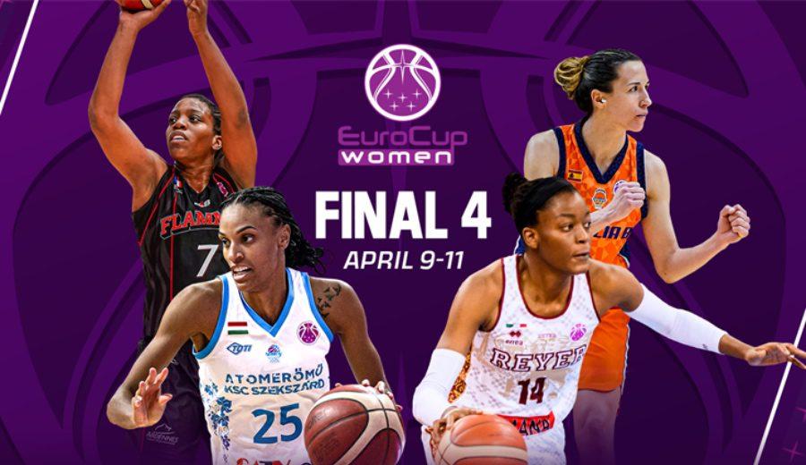 Info de servicio sobre la Final Four de la Eurocup femenina. Valencia Basket busca su primer título