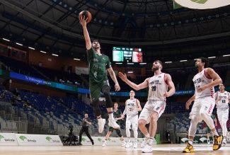 Brizuela iguala su mejor anotación en la Liga Endesa con unos numerazos ante Bilbao Basket
