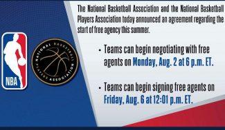 La agencia libre en la NBA se retrasa y coincide con los Juegos Olímpicos. ¿Cómo afectará?
