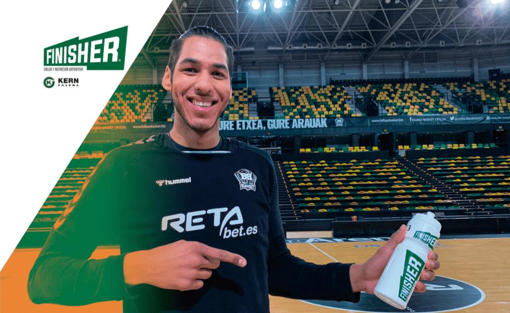 Felipe Dos Anjos (RETAbet Bilbao Basket) cuenta su experiencia con los productos Finisher®