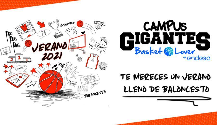 Anunciadas todas las sedes de los Campus Gigantes Basket Lover del verano 2021