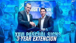 Xavi Pascual, renovado en el Zenit por tres temporadas más
