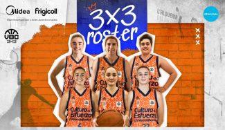 Valencia Basket desvela su equipo femenino de 3×3. Conoce a las integrantes