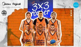 Valencia Basket se adentra en el mundo del 3×3 con la creación de dos equipos