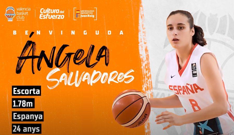 ¡Ángela Salvadores está de vuelta! Valencia Basket confirma su fichaje