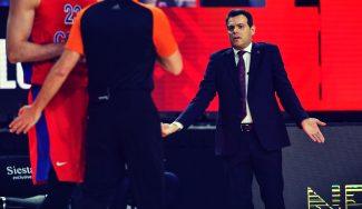 «Estando 16 abajo, les he dicho a los jugadores que seguía creyendo que podíamos remontar», Itoudis en rueda de prensa