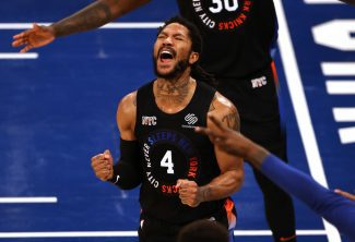 Los Knicks igualan la eliminatoria con un maravilloso partido de Rose