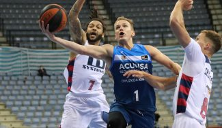 El Acunsa GBC desciende a la LEB Oro tras su derrota ante TD Systems Baskonia