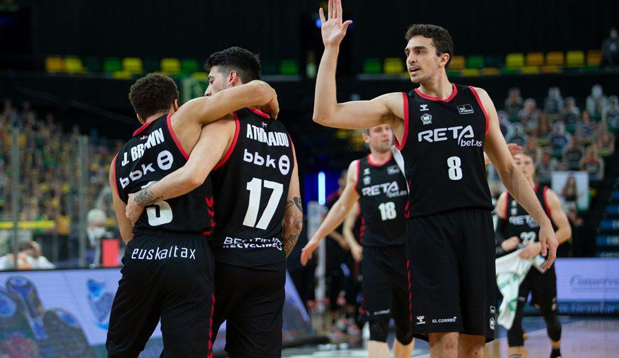 El RETAbet Bilbao Basket supera al Hereda San Pablo Burgos e iguala al Movistar Estudiantes