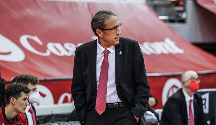 Las palabras de Luis Casimiro sobre las últimas dos derrotas del Casademont Zaragoza