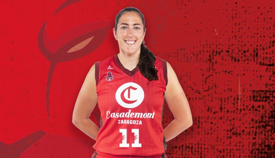 Oficial: Vega Gimeno regresa a Zaragoza tras ser la máxima anotadora nacional en la Liga Femenina
