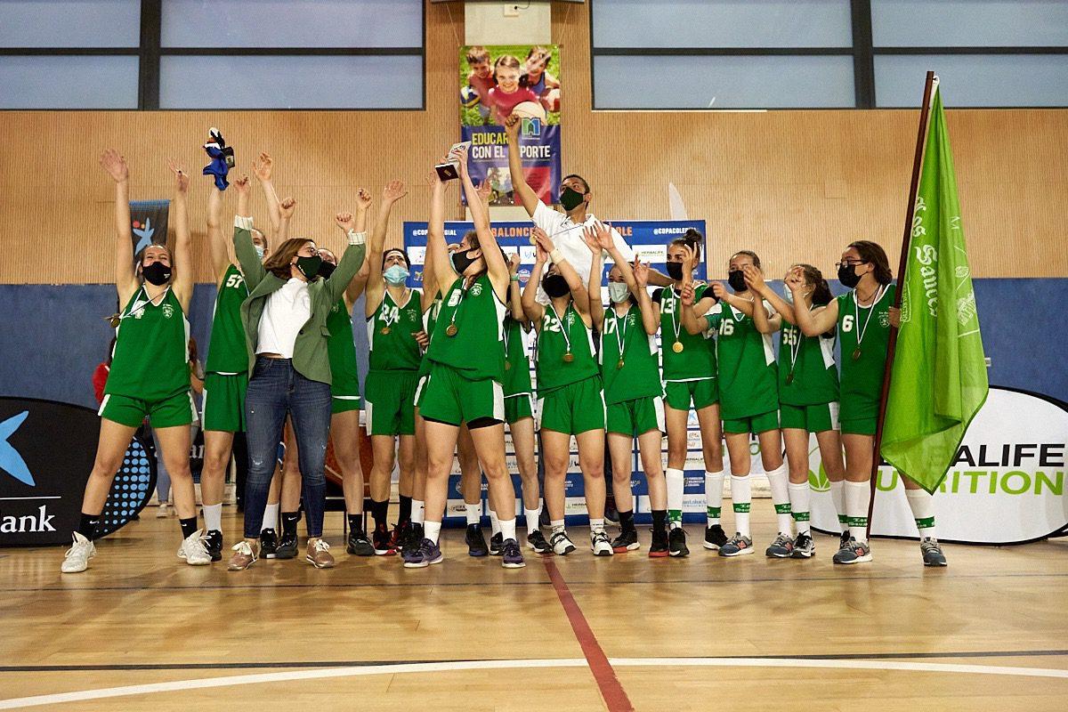 Escolapios Pozuelo y Los Sauces Torrelodones, campeones de la Copa Colegial Madrid 2021