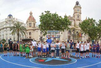 Valencia vive la gran fiesta del primer Plaza 3×3 CaixaBank 2021