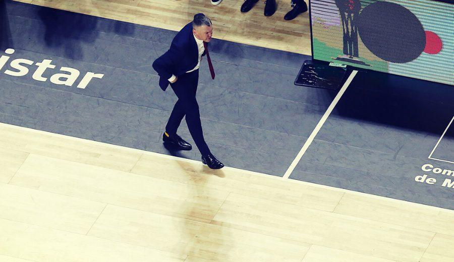 «Higgins se ha echado el equipo a la espalda» Jasikevicius habla tras el 0-1 del Barça en la final de la Liga Endesa
