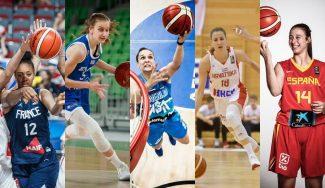 ¿Las conoces? Cinco jóvenes a seguir en el Eurobasket 2021