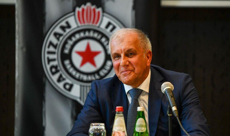Las palabras de Zeljko Obradovic en su presentación con el Partizan. Así explica su regreso