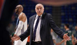«Si el partido hubiese sido igualado estaríamos igual». Pablo Laso habla tras la derrota ante Valencia Basket