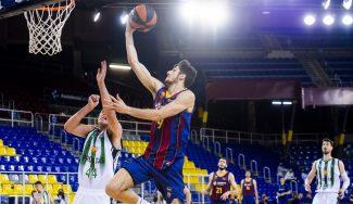 Bolmaro y Pau lideran al Barça en la primera victoria ante el Joventut